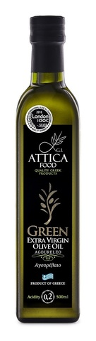 Оливковое масло Агурелио Attica Food 500 мл
