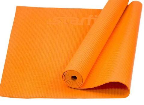 KB6505 Коврик для йоги ЭВА, оранжевый 180x65x0,5 см