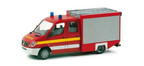 Herpa 048699 Микроавтобус MB Sprinter 06 Ziegler TSF, НО