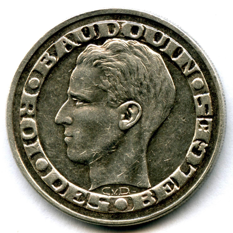 """50 франков 1958 """"Выставка ЭКСПО в Брюсселе"""" Бельгия (XF)"""