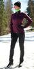 Детский утеплённый лыжный костюм Nordski Motion Purple-Black