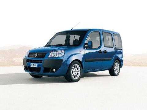 Чехлы на Fiat Doblo 2005–2017 г.в.