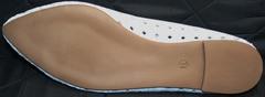Туфли женские на низком ходу Vasari Gloria 19Y38860-37 White.