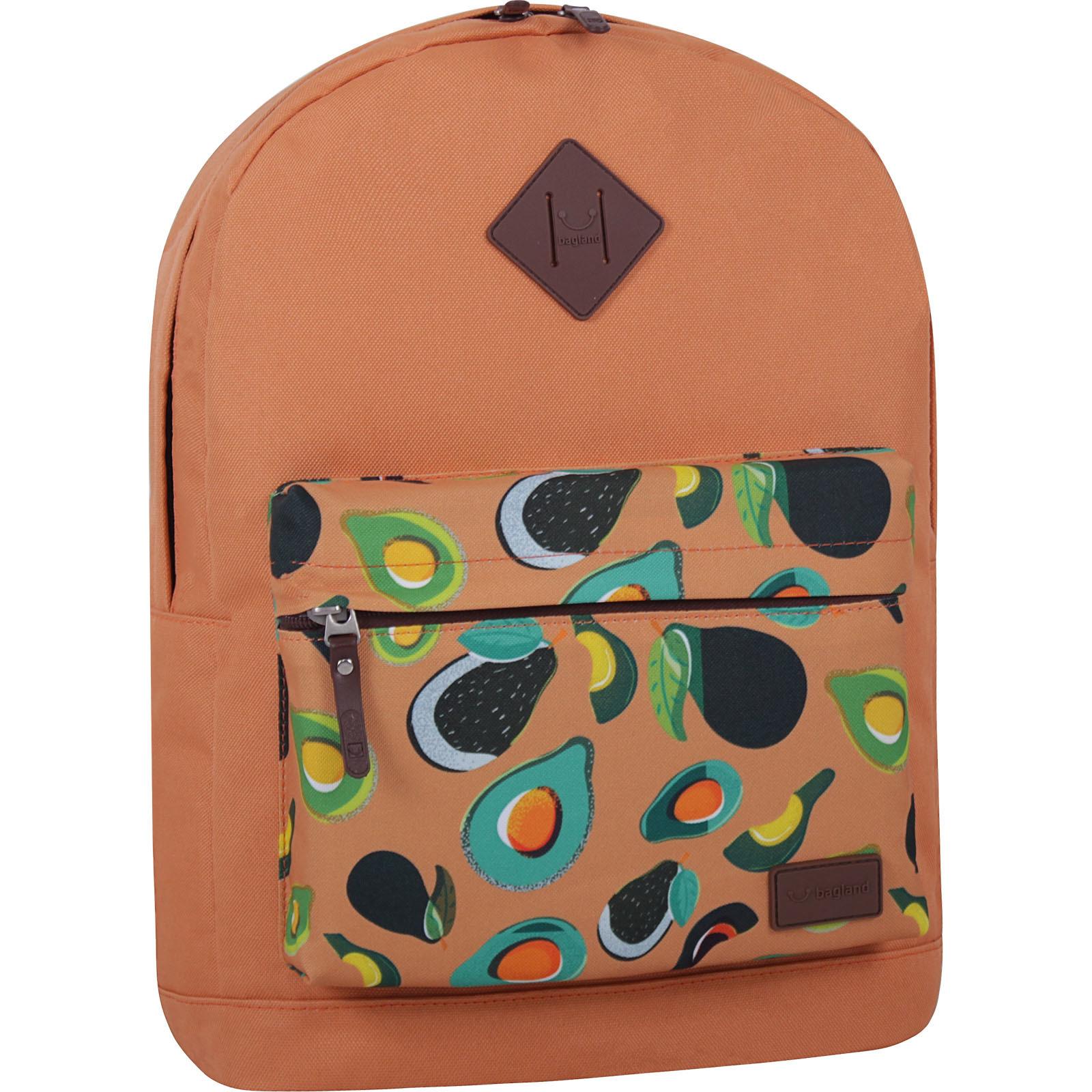 Молодежные рюкзаки Рюкзак Bagland Молодежный W/R 17 л. Рыжий 754 (00533662) IMG_7227_суб.754_-1600.jpg