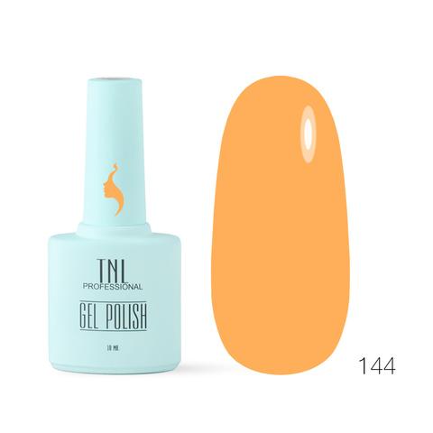 Гель-лак TNL 8 Чувств №144 - оранжевое солнце (10 мл.)