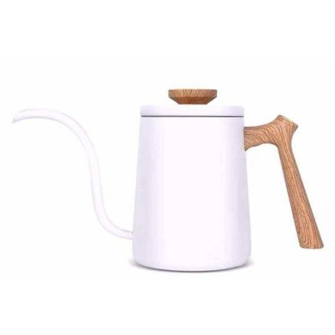 Чайник с тонким носиком  Mojae белый
