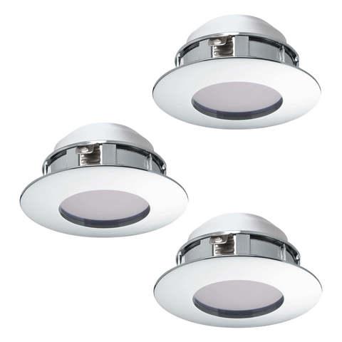 Комплект светильников светодиодных встраиваемых влагозащищенный Eglo PINEDA 95822