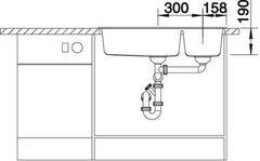 Мойка Blanco Metra 9 схема