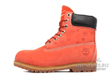 Ботинки Timberland 10061 Waterproof Red Star Женские (Мех)