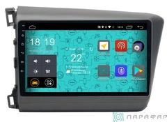 Штатная магнитола 4G/LTE Honda Civic 12-16 Android 7.1.1 Parafar PF132