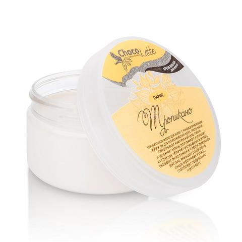 Крем-маска кондиционер для питания, восстановления и блеска волос ПАРФЕ ТРОПИКАНО с соком ананаса и манго 200 мл ТМ ChocoLatte