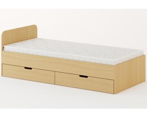 Кровать КР-07 дуб беленый