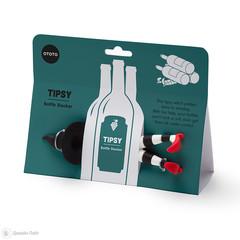 Подставка для бутылок Tipsy черный