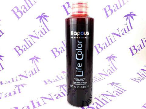 Оттеночный шампунь для волос Гранатовый Красный, 200 мл