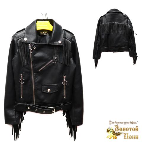 Куртка экокожа девочке (6-11) 200305-T1903.2