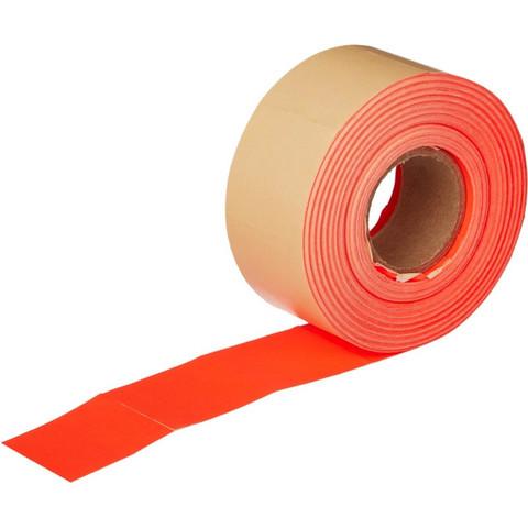 Этикет-лента прямоугольная красная 29х28 мм (10 рулонов по 700 этикеток)