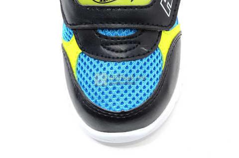 Светящиеся кроссовки Хот Вилс (Hot Wheels) на липучке для мальчиков, цвет синий. Изображение 12 из 15.