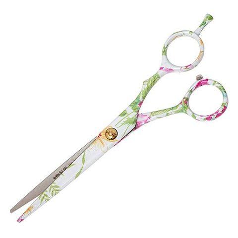 Профессиональные парикмахерские ножницы для стрижки Katachi White Beauty 6.0