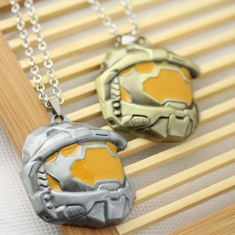 Halo Spartan Assault Mask Necklace