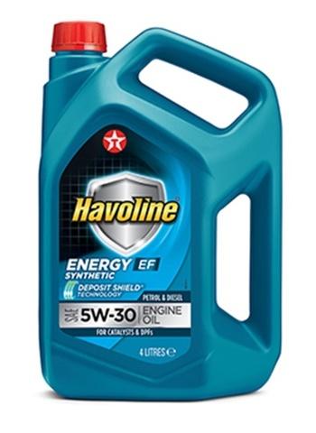 HAVOLINE ENERGY EF 5W-30 моторное масло TEXACO 4 литра