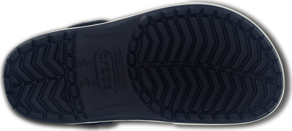 Cабо Crocs Crocband II.5 Navy/Citrus
