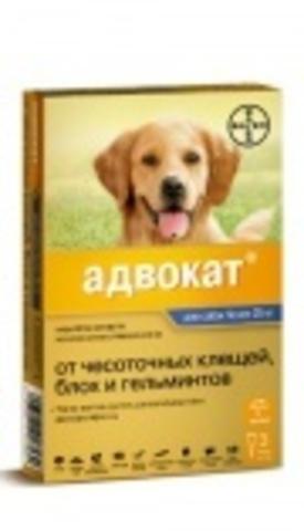Advocate для собак весом 25-40 кг, 1пип.