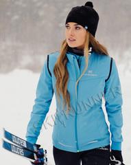 Женская элитная утеплённая лыжная куртка Nordski Pro Breeze
