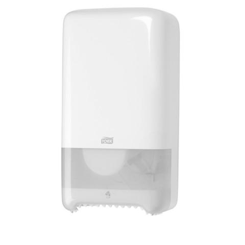 Диспенсер для туалетной бумаги в миди-рулонах Tork Elevation 557500 пластиковый белый