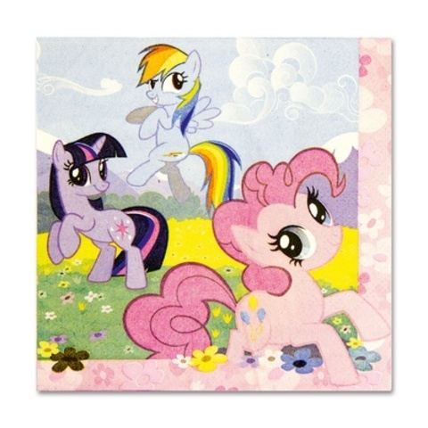 Салфетка My Little Pony 33см 16шт