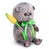 Кот Басик Baby с желтым тюльпаном