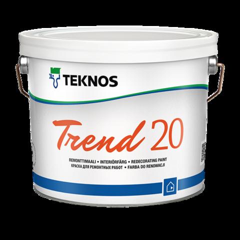 TEKNOS TREND 20/Текнос Тренд 20 Акрилатная краска для стен и потолков