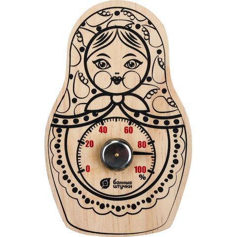 Гигрометр «Матрёшка» 10,5х16,5 см