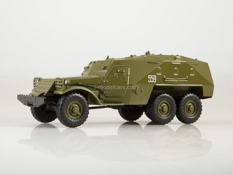 Armored personnel carrier BTR-152 Our Tanks #30 MODIMIO Collections