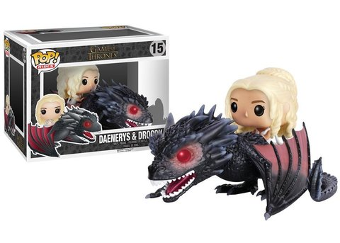 Фигурка Funko POP! Rides: Game of Thrones: Drogon & Daenerys 7235