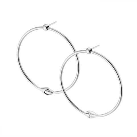 Серьги-кольца KAMALA
