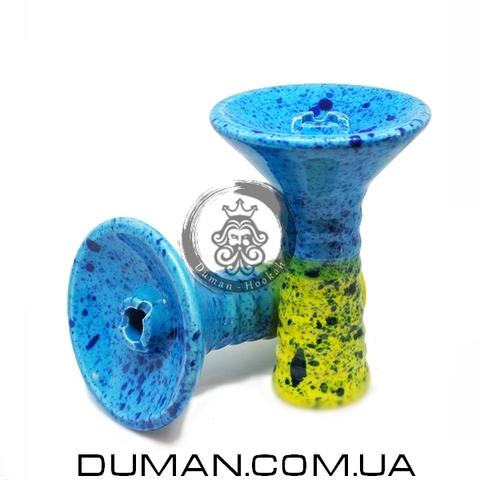 Чаша GrynBowls для кальяна  Big Alien Green-Blue