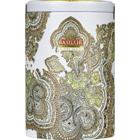 Чай подарочный Basilur Восточная коллекция Белая луна листовой зеленый Молочный улун 100 г