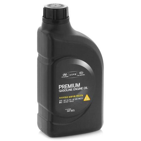 HYUNDAI PREMIUM 5W20 SL Масло моторное полусинт. SL/CF-3 (пластик/Корея)