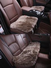 Подушка на сиденье из искусственного меха (длинный ворс)