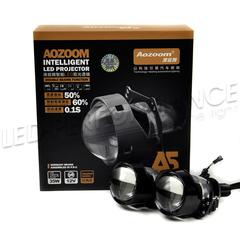 Светодиодные линзы bi led Aozoom A5, комплект 2 шт
