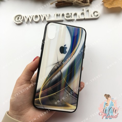 Чехол iPhone XR Polaris smoke Case Logo /black/
