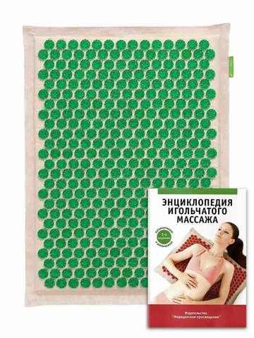 Тибетский аппликатор на мягкой подложке 41х60 см, зеленый