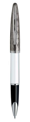 *Ручка-роллер Waterman Carene, цвет: Contemporary white ST, стержень: Fblck