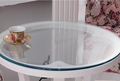 Скатерть круглая прозрачная  114 см. 1 мм.