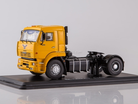 KAMAZ-5460 road tractor yellow 1:43 Start Scale Models (SSM)