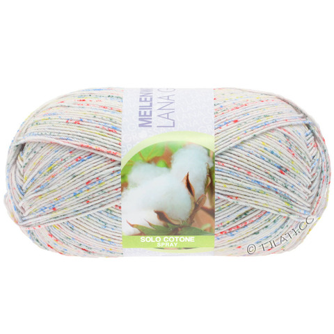 Lana Grossa Meilenweit Solo Cotone Spray купить пряжу - www.knit-socks.ru