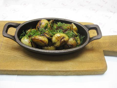 Мини картофель с Белыми грибами 150г