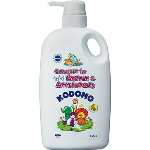 Жидкость для мытья детской посуды, бутылочек и сосок с дозатором Kodomo