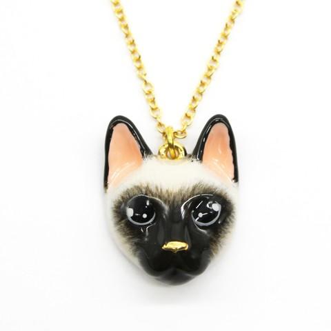 Колье Сиамская кошка