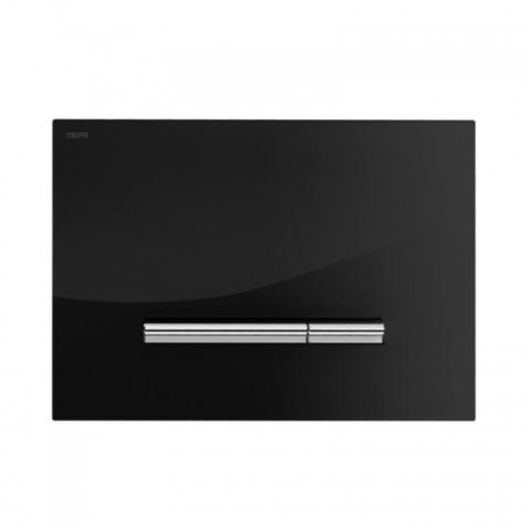 Смывная клавиша Mepa Sirius B 421751 черное стекло